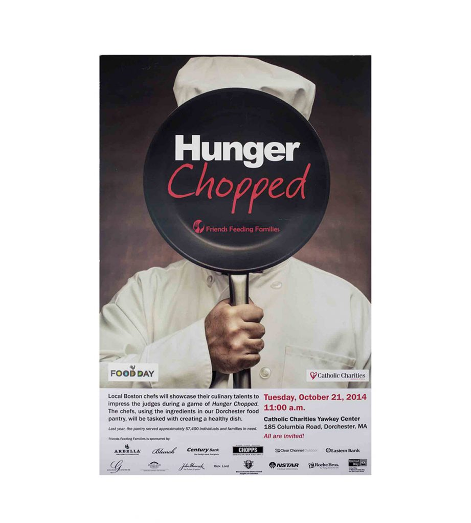 Hunger Chopped Poster